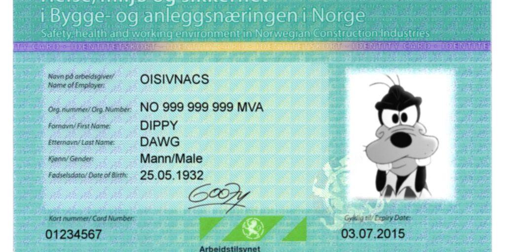 ID-kort bliver til HMS-kort