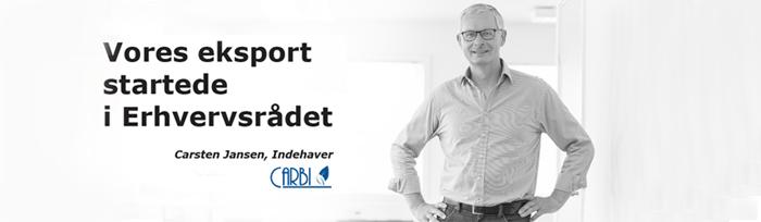 Carbi og Scanvisio omtales på erhvervsraadet.dk