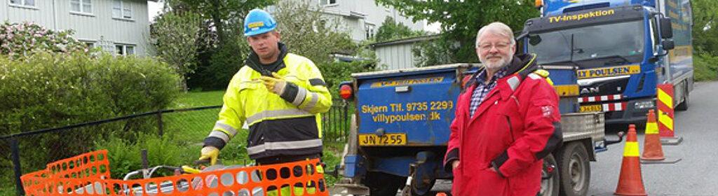 Villy Poulsen omtales af Rørinspeksjon Norge