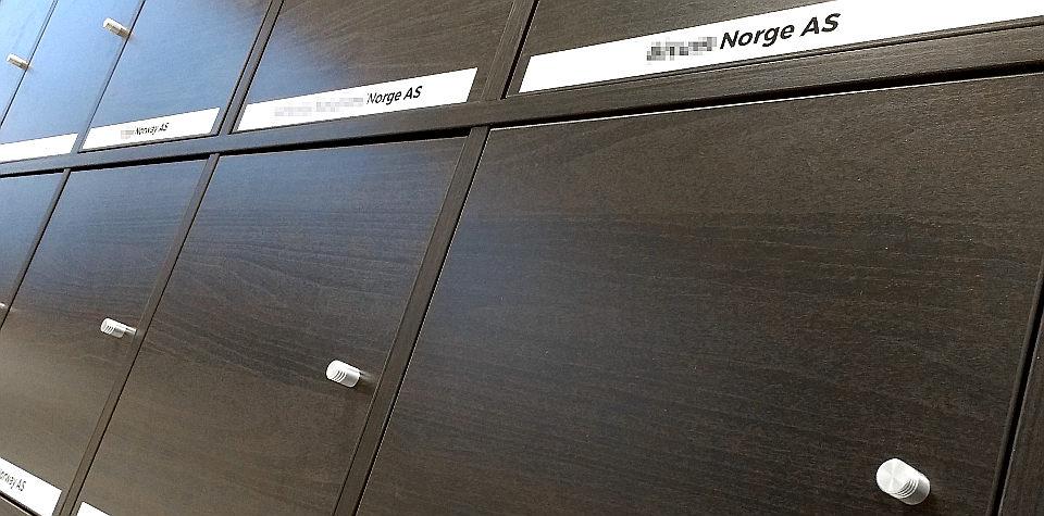 Forretningsadresse og postadresse i Norge